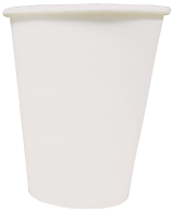 Однослойный бумажный стакан 180мл