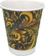 Однослойный бумажный стакан 100мл
