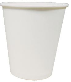 Однослойный бумажный стакан 150-160мл
