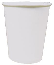 Однослойный бумажный стакан 205мл