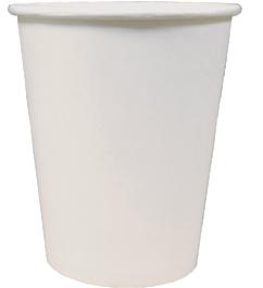 Однослойный бумажный стакан 250мл