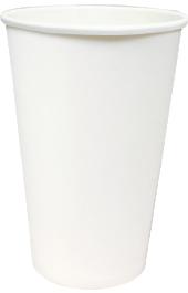Однослойный бумажный стакан 400-500мл
