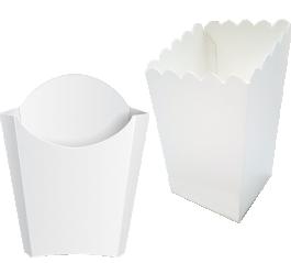 Коробки для картофеля фри 100-150 г без печати