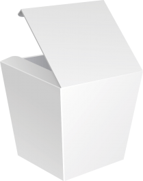 Коробка WOK сборная без замка 750 мл