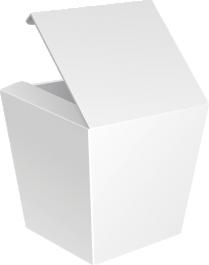 Коробка WOK сборная без замка 500 мл