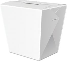 Коробка WOK сборная с замком 750 мл