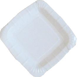 Тарелка белая квадратная 210х210 мм